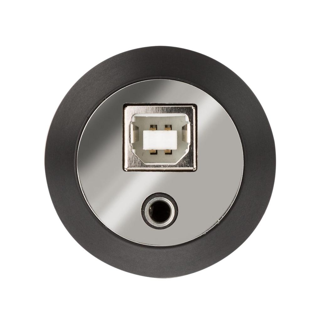 Auna USB Kondensator-Mikrofon Studio USB Großmembran-Mikrophon »MIC-920-B«