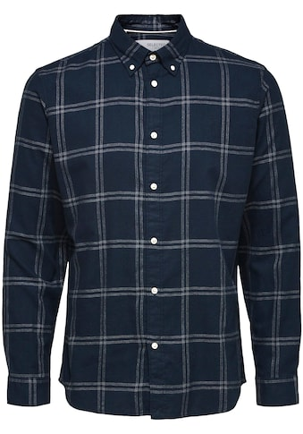 SELECTED HOMME Langarmhemd »FLANNEL SHIRT« kaufen