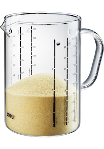 GEFU Messbecher »METI, 1000 ml«, Glas, Ausgießnase, 1 Liter kaufen