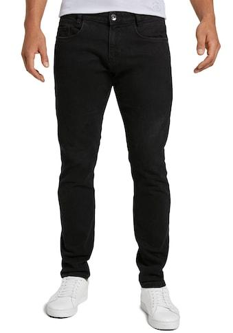 TOM TAILOR Slim-fit-Jeans »TROY«, unifarben kaufen