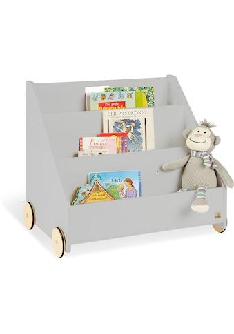 Pinolino® Bücherregal »Lasse«, grau kaufen