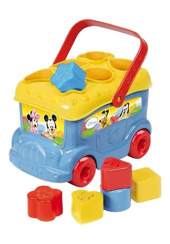 Clementoni® Spielbausteine »Disney Baby Mickey Sortierbus«, Made in Europe kaufen
