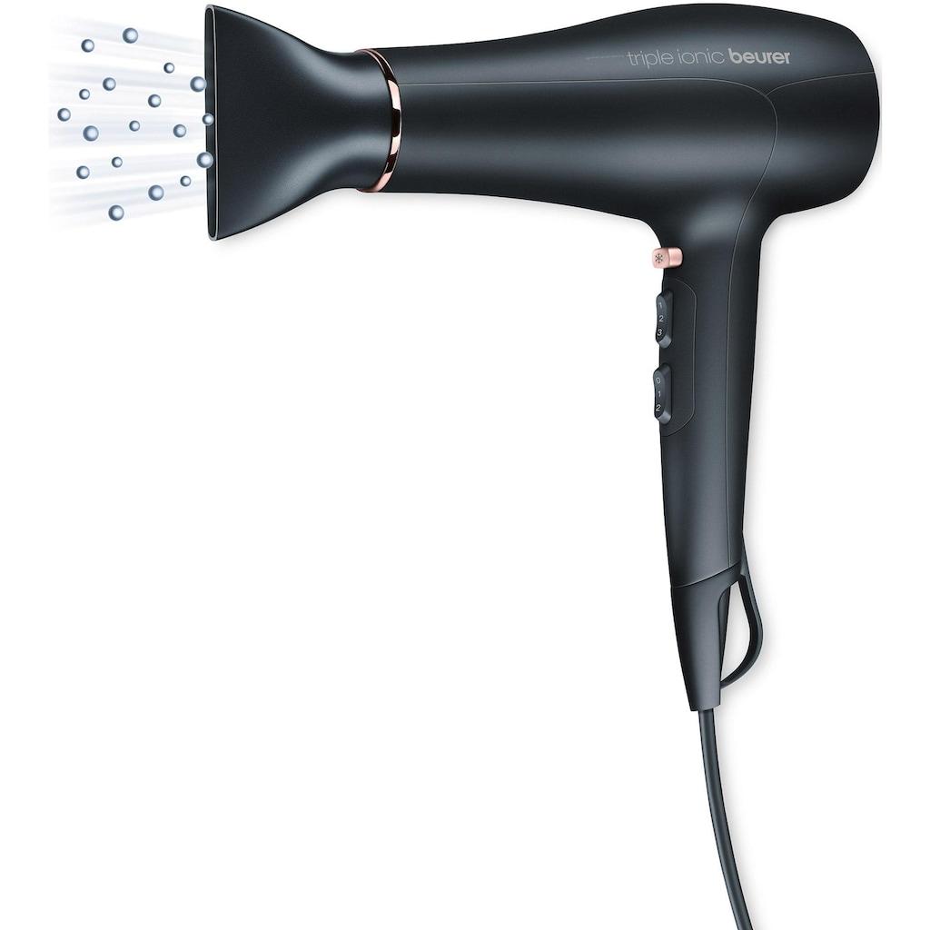 BEURER Haartrockner HC 50, 2200 Watt, Aufsätze: 2