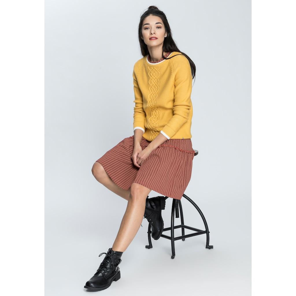 AJC Sommerkleid »Sommerkleid mit Kurzärmel und Volant«, in verschiedenen Druck-Designs - NEUE KOLLEKTION