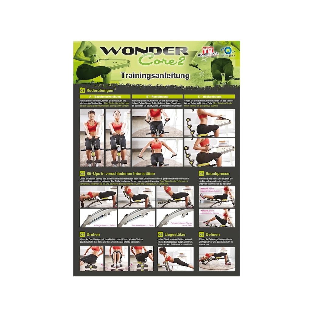 Wonder Core 2® Ganzkörpertrainer »Wonder Core 2«, (Set, mit Trainings-DVD-mit Ernährungsplan)
