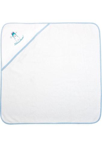 ADELHEID Kapuzenhandtuch »Schneehase Kapuzenhandtuch«, (1 St.), mit Paspel und Stickerei kaufen