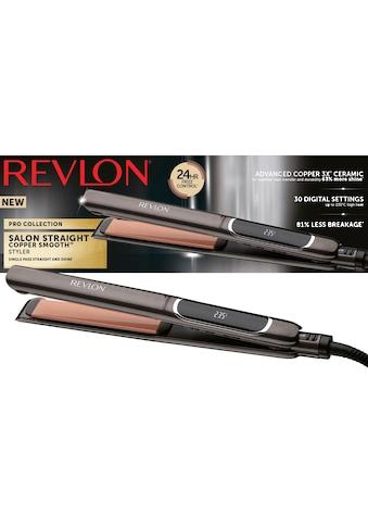 Revlon Glätteisen »RVST2175«, ColourProtect-Keramik-Beschichtung, 125 mm lange, abgerundete, bewegliche Platten in 10 Sekunden einsatzbereit kaufen