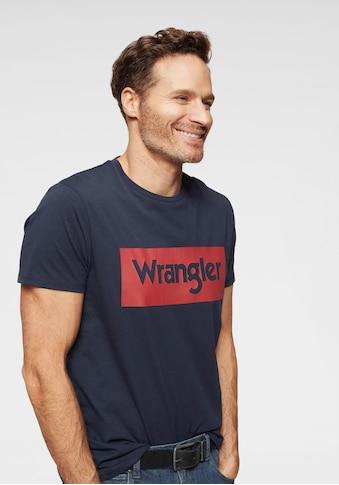 Wrangler T - Shirt »SS LOGO TEE« kaufen
