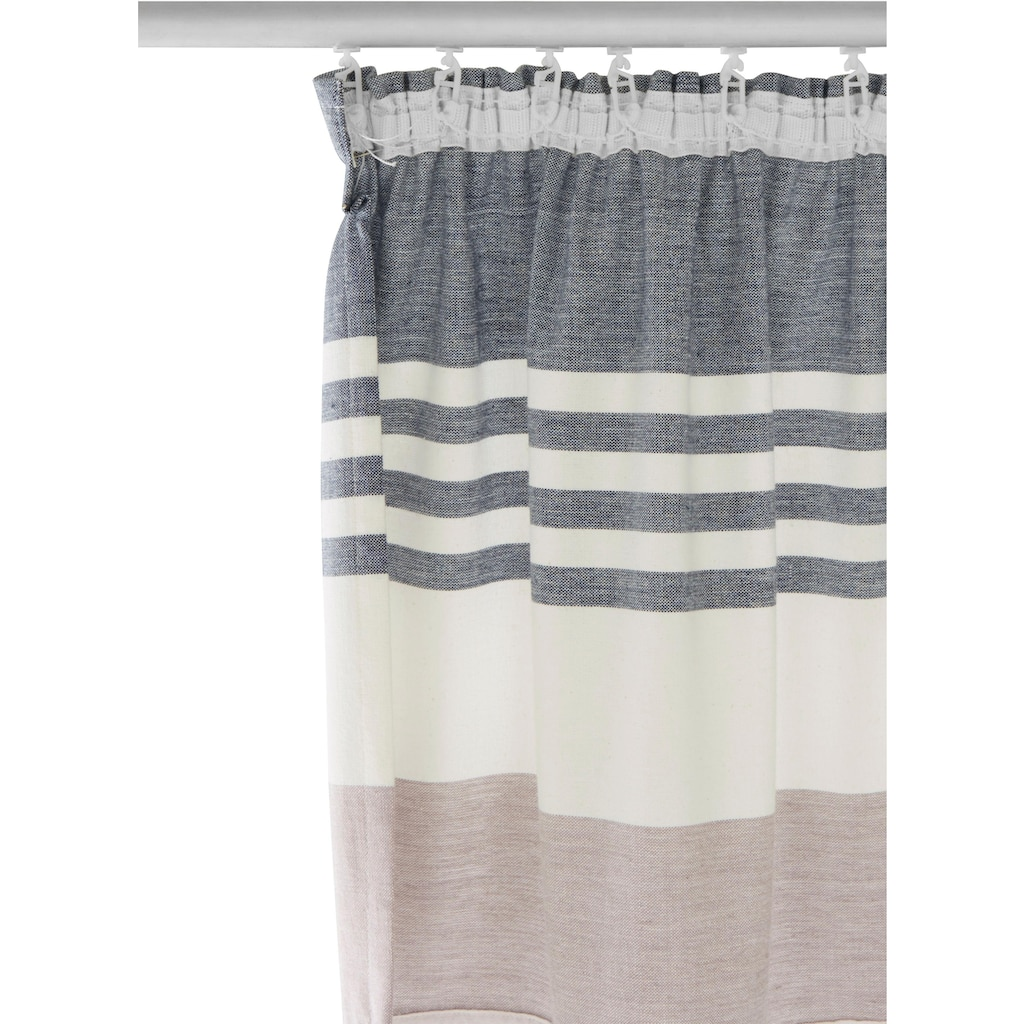 Home affaire Vorhang »Fisch«, Cotton made in Africa