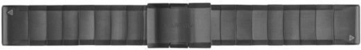 Garmin Ersatz-/Wechselarmband »Ersatzarmband QuickFit Metall 22 mm« | Schmuck > Armbänder > Sonstige Armbänder | Grau | Metall | GARMIN