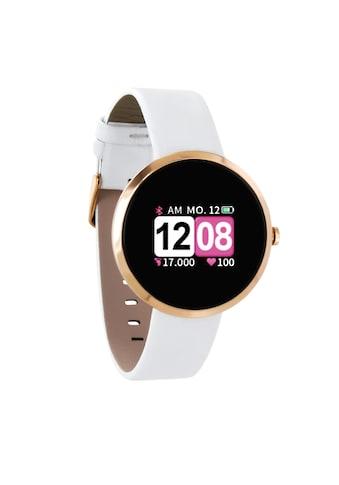 X - Watch Die smarte Fitnessuhr für die modebewusste Frau »SIONA COLOR FIT  -  Polar White« kaufen