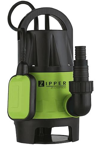ZIPPER Schutzwasserpumpe »ZI - DWP900«, 13.000 l/h Fördermenge kaufen