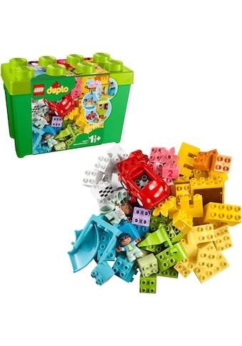 """LEGO® Konstruktionsspielsteine """"Deluxe Steinebox (10914), LEGO® DUPLO® Classic"""", Kunststoff, (85 - tlg.) kaufen"""