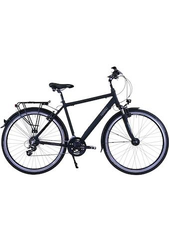 HAWK Bikes Trekkingrad »HAWK Trekking Gent Premium Black«, 24 Gang, Shimano, Altus... kaufen