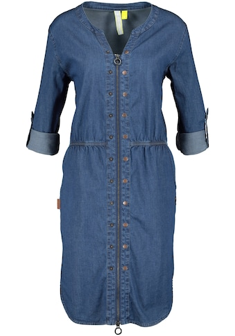 Alife & Kickin Jeanskleid »HannaAK«, lässiges Kleid aus Denim-Stretch mit 2-Way-Zipper... kaufen