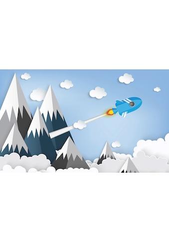 Consalnet Vliestapete »Kindermotiv Berge«, Comic kaufen