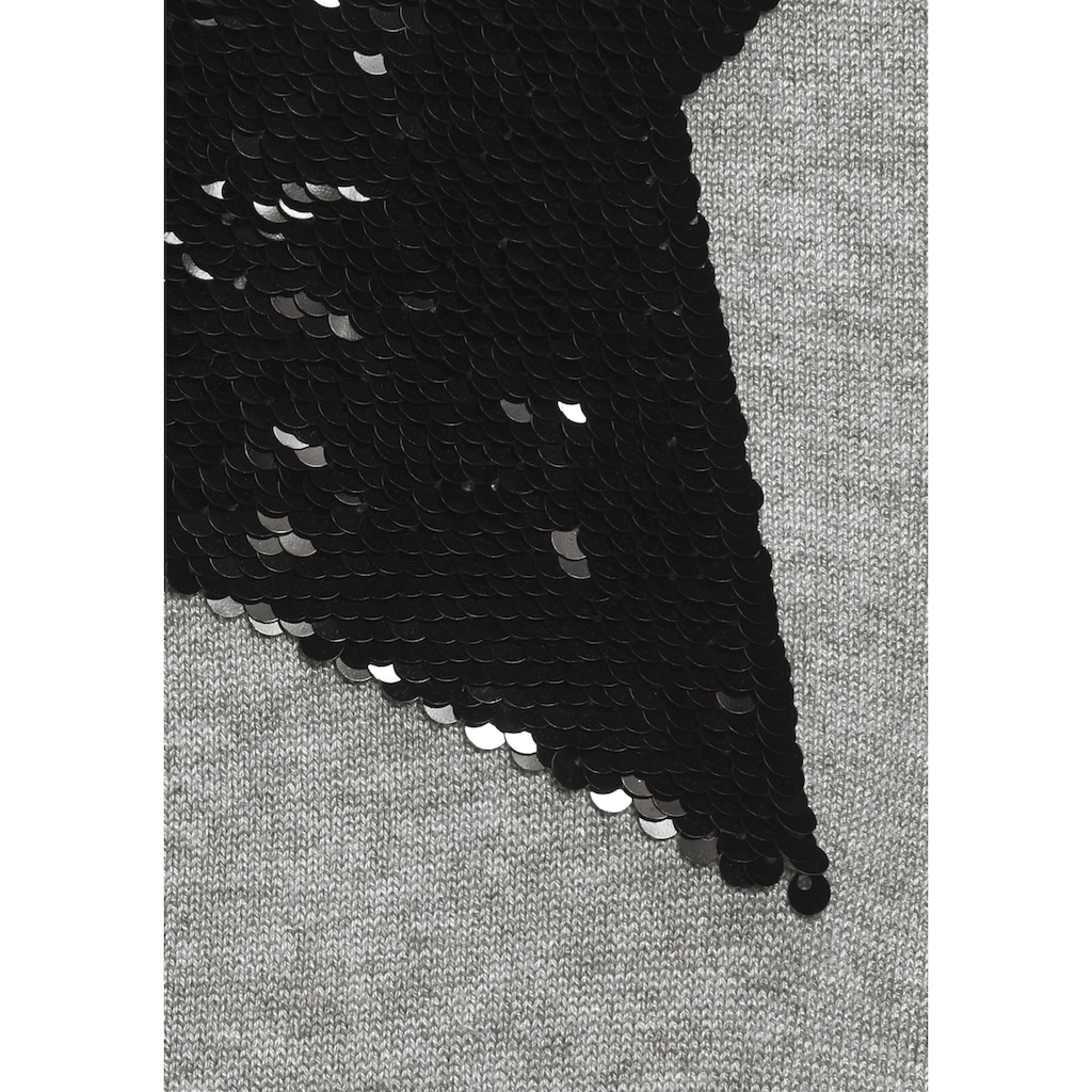 Flashlights Cardigan »Paillettenstern«, mit Glitzereffekt