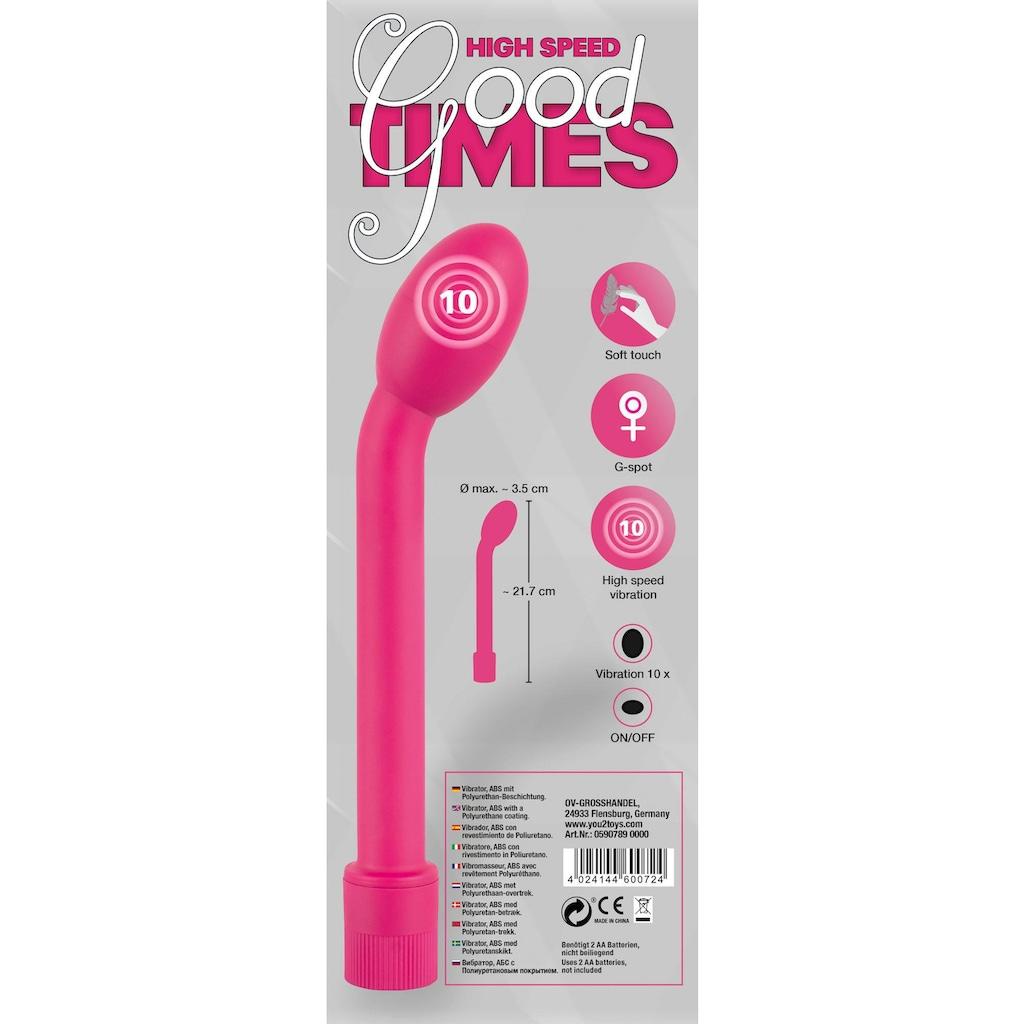 You2Toys G-Punkt-Vibrator »High Speed Good Times«, starke Vibration