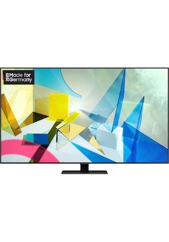 Samsung GQ65Q80T QLED - Fernseher (163 cm / (65 Zoll), 4K Ultra HD, Smart - TV kaufen