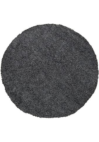 my home Hochflor-Teppich »Tripova«, rund, 45 mm Höhe, Sehr weicher Flor, Wohnzimmer kaufen
