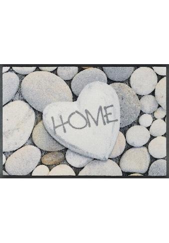 wash+dry by Kleen-Tex Fußmatte »Pebble Stones«, rechteckig, 7 mm Höhe,... kaufen