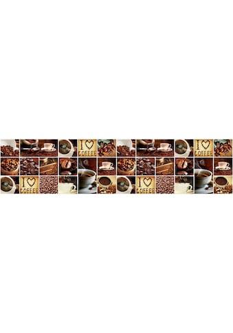 Consalnet Vliestapete »KAFFEE COLLAGE«, grafisch, 250 x 60 cm kaufen