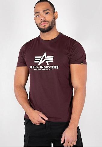 Alpha Industries T - Shirt »Basic T - Shirt« kaufen