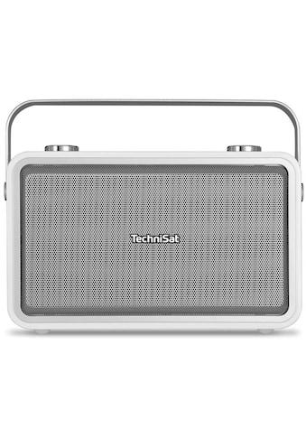 TechniSat Digitalradio (DAB+) »DIGITRADIO 225, weiß«, (A2DP... kaufen