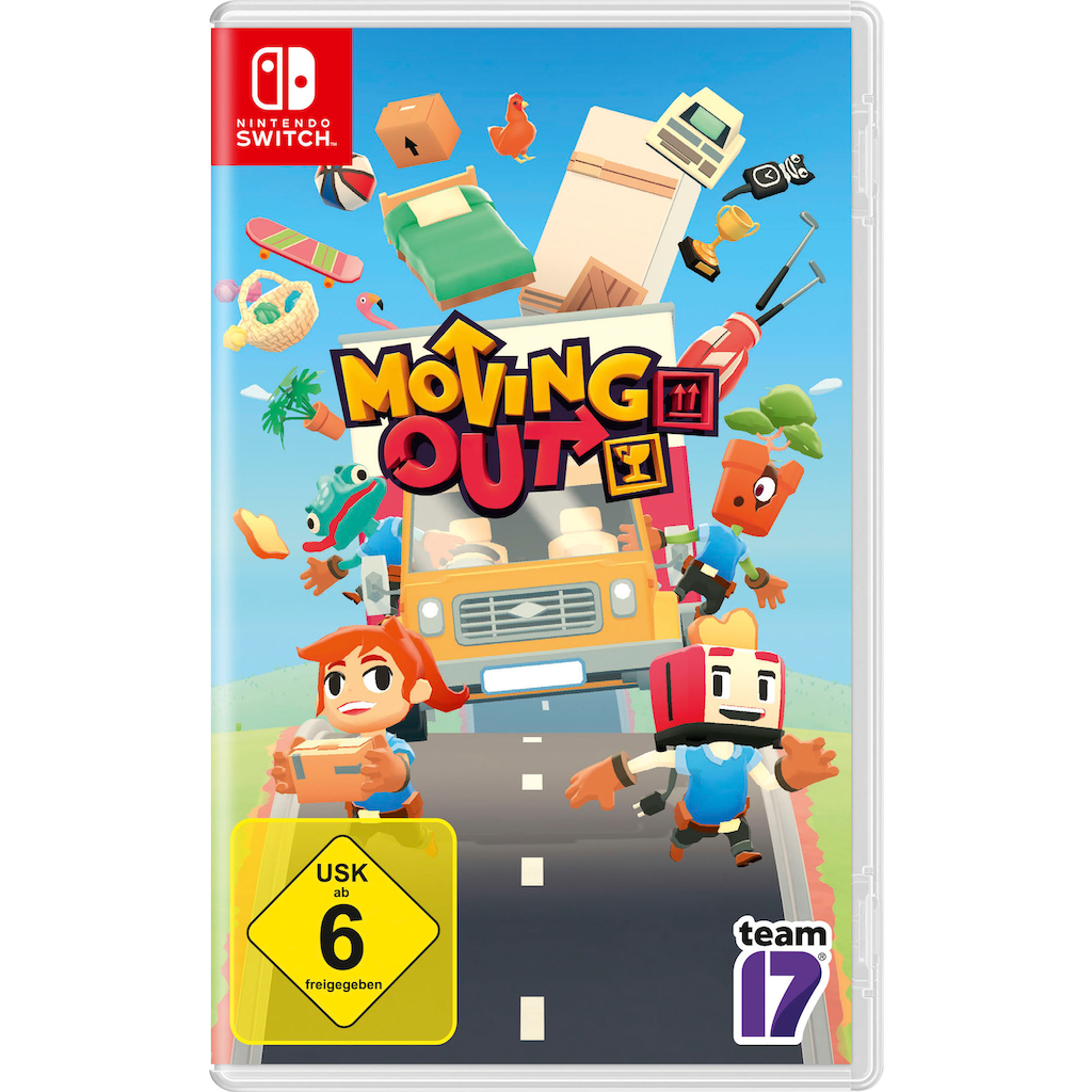 Spiel »Moving Out«, Nintendo Switch