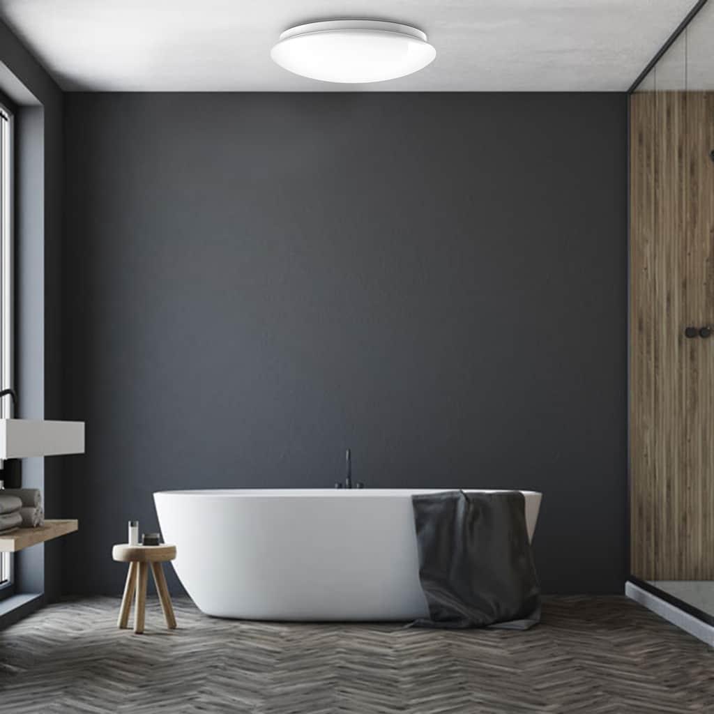B.K.Licht LED Deckenleuchte »Tucana«, LED-Board, Neutralweiß, LED Bad Deckenlampe inkl. 18W 1600lm Bad-Lampen IP44 Küche Flur
