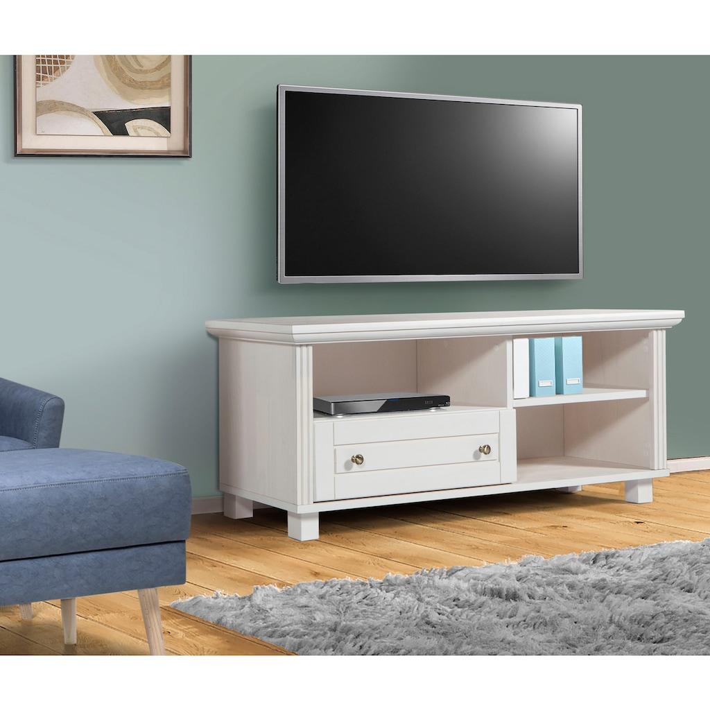 Home affaire Lowboard »Tracy«, aus Kiefer massiv, Breite 120 cm