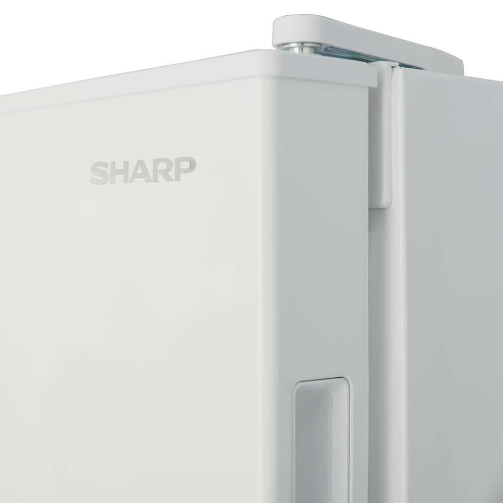 Sharp Gefrierschrank »SJ-SE182E2W-EU«, 145,5 cm hoch, 54 cm breit