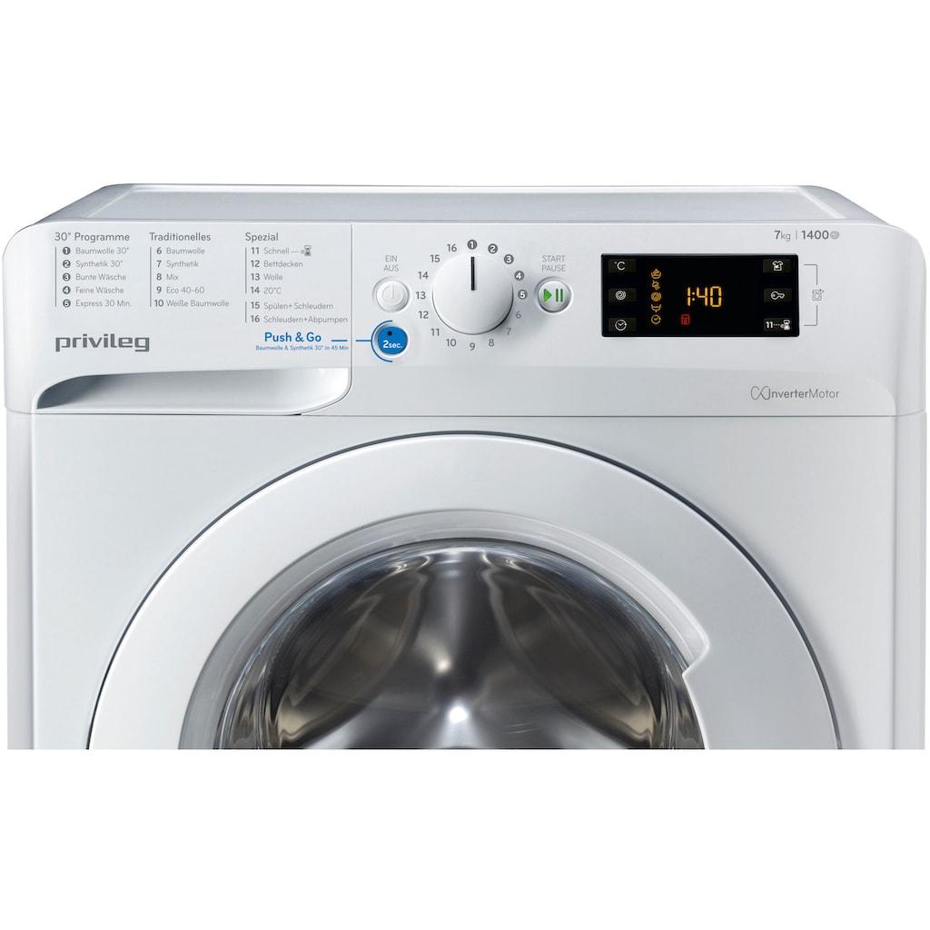 Privileg Waschmaschine »PWF X 743«, PWF X 743 N