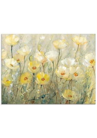 Artland Glasbild »Sommer in voller Blüte II«, Blumenwiese, (1 St.) kaufen