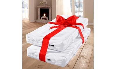 fan Schlafkomfort Exklusiv Taschenfederkernmatratze »ProVita Classic T«, 420 Federn, (Spar-Set, 2 St., 2-tlg.), Geprüfte Qualität und lange Haltbarkeit kaufen