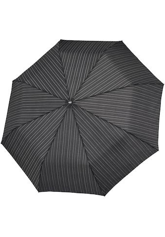 doppler® Taschenregenschirm »Fiber Magic Herren gemustert, lines« kaufen