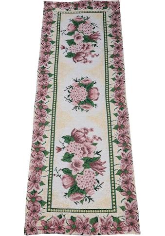 SPRÜGEL Tischläufer »Rose im Rahmen«, (1 St.), Gobelin kaufen