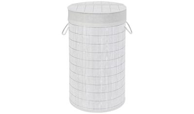 WENKO Wäschetruhe »Bamboo«, ØxH: 35x60 cm, 55 Liter kaufen
