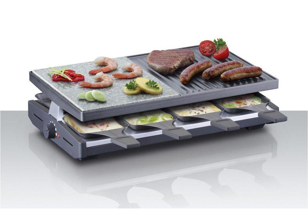 Steba Raclette RC 58, 8 Raclettepfännchen, 1200 Watt | Küche und Esszimmer > Küchengeräte > Raclette | Steba
