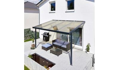 GUTTA Terrassendach »Premium«, BxT: 410x306 cm, Dach Acryl bronce kaufen