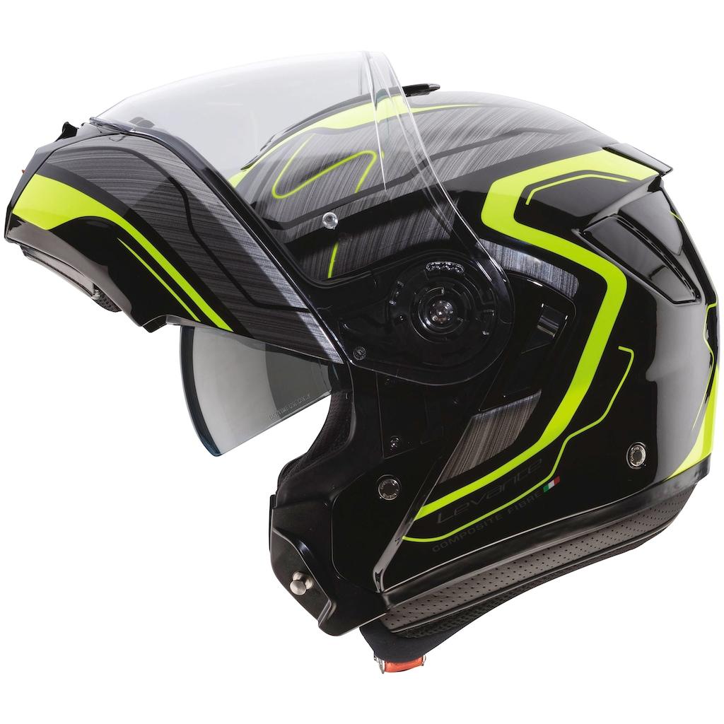 Caberg Motorradhelm »Levo Flow«, mit integrierter Sonnenblende
