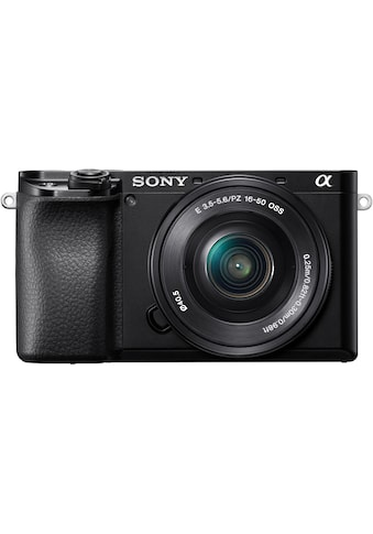 Sony Systemkamera »Alpha 6100 Kit mit SELP1650«, SELP1650, 24,2 MP, NFC-Bluetooth-WLAN... kaufen
