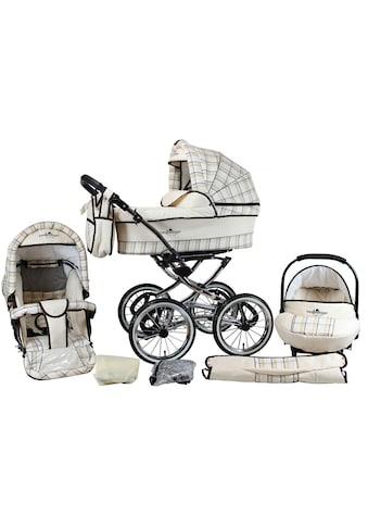 """bergsteiger Kombi - Kinderwagen """"Venedig, classic beige, 3in1"""", (10 - tlg.) kaufen"""