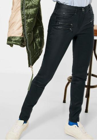 Cecil Röhrenhose »Style Vicky«, mit kontrastfarbenen Nähten kaufen