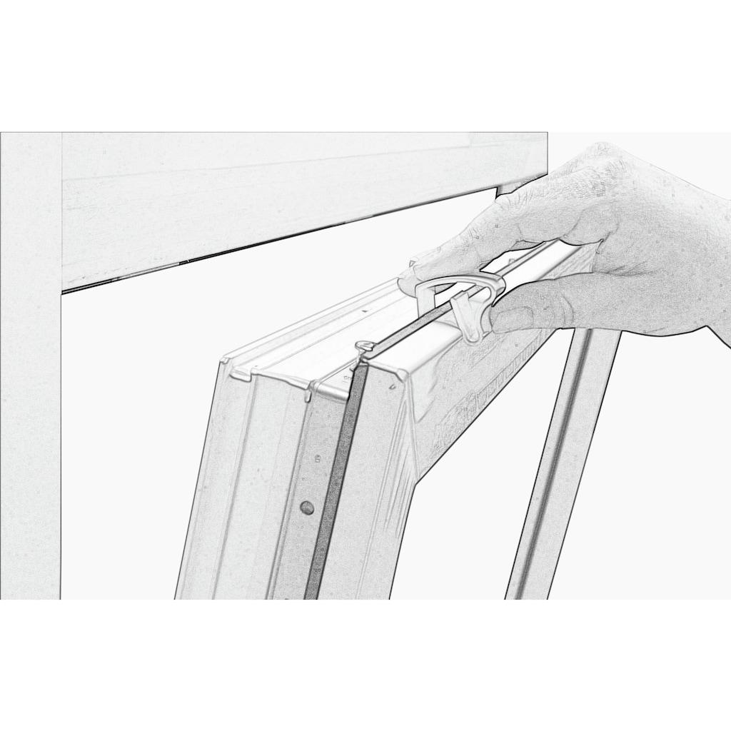 GARDINIA Sichtschutzbefestigung »Klemmhalter für Aluminium-Jalousien«