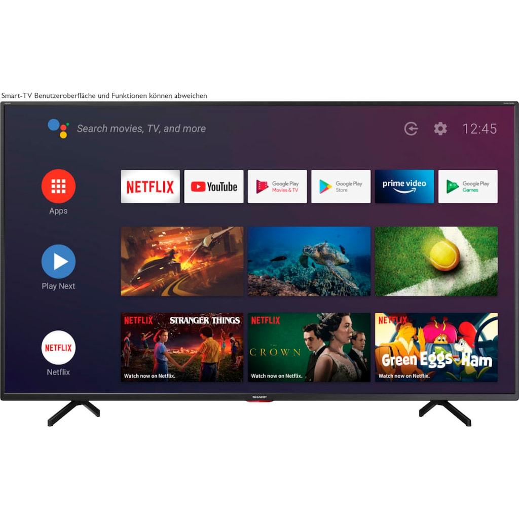 "Sharp LED-Fernseher »4T-C65BNx«, 164 cm/65 "", 4K Ultra HD, Android TV-Smart-TV"