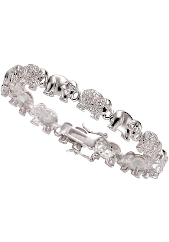Firetti Armband »Elefanten«, mit Zirkonia kaufen