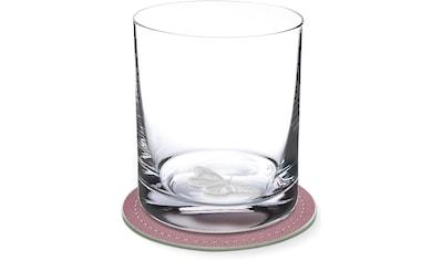 Contento Whiskyglas, (Set, 4 tlg., 2 Whiskygläser und 2 Untersetzer), Schmetterling,... kaufen