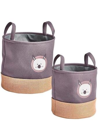Zeller Present Aufbewahrungskorb »Hase« (Set, 2 Stück) kaufen