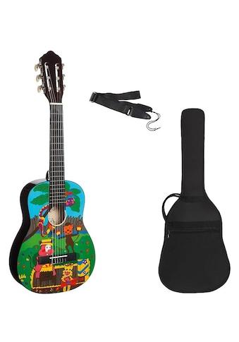 Konzertgitarre »Konzertgitarren Set 1/4 mit Zoo Motiv«, 1/4 kaufen